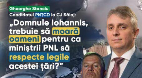 """PNȚCD Sălaj, atac fără precedent la adresa liberalilor: """"Klaus Iohannis susține încălcarea legii în România și-l protejează pe ministrul Bode"""""""