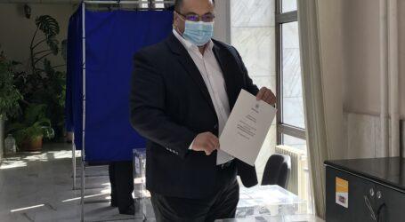 VIDEO. Europarlamentarul PNTCD, Cristian Terhes, a votat la Zalău
