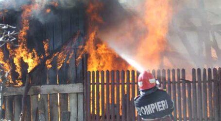 Ultima oră! Un sălăjean și-a dat foc la casă