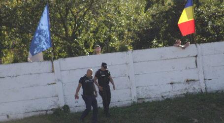 Două persoane din galeria echipei Sportul Șimleu, sancționate de jandarmi