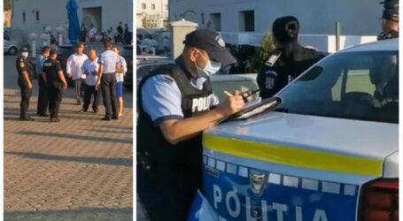 VIDEO. Nuntă din Zalău, oprită de Poliție și Jandarmerie