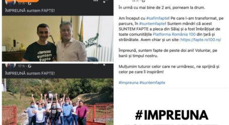 Scandalos! PSD căpușează imaginea unei organizații civice din Sălaj pentru beneficii electorale