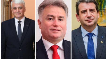 """Ionel Ciunt, Dan Ghiurco și Septimiu Țurcaș """"și-au zăpăcit"""" adversarii politici"""