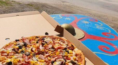 Pizza Barbară, cea mai inedită rețetă din Sălaj poate fi încercată la restaurantul cu specific dacic din Jibou