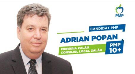 Proiect inedit al candidatului PMP Zalău, Adrian Popan