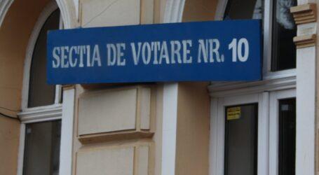 """O secție de vot din Zalău, """"cucerită"""" de PSD și PNL"""