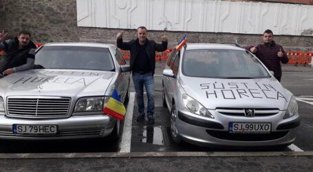 Protest în Zalău, după ce Guvernul a închis restaurantele și cafenelele din oraș