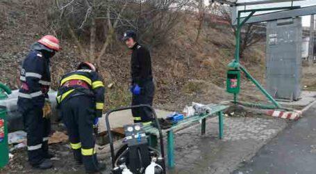 Un bărbat a căzut într-un canal din Șimleu Silvaniei