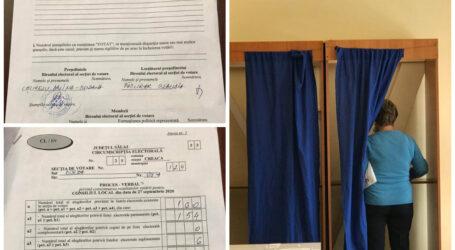 """Suspiciuni de fraudă electorală într-o secție din Sălaj: """"am semant în alb numărătoarea voturilor"""""""