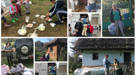 """Caravana """"Sălajul Faptelor Bune"""" a ajuns luna aceasta la zeci de copii și sălăjeni săraci, uitați de autorități"""