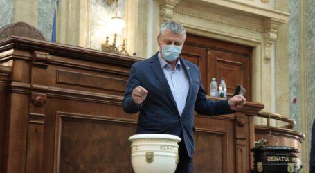 Senatorul Pop are numeroase proiecte de lege pentru bunăstarea românilor care au fost promulgate de președintele Iohannis