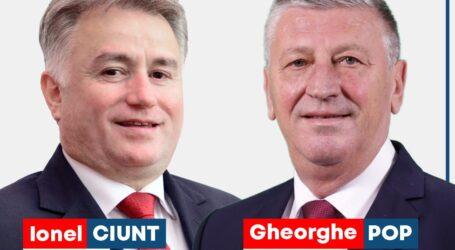 Ionel Ciunt vrea să facă echipă cu Gheorghe Pop pentru dezvoltarea Zalăului