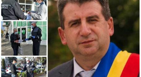 De pe patul de spital, Dan Ghiurco a cerut Poliției Locale Jibou să sprijine toți cetățenii pe timp de carantină