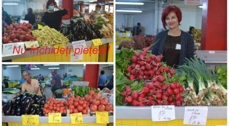 REVOLTA producătorilor care vând în piața din centrul Zalăului