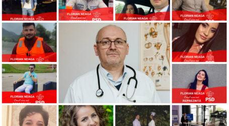 Pe timp de carantină, doctorul Neaga face o altfel de campanie: sute de tineri din Sălaj își arată public simpatia pentru medic