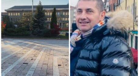 """VIDEO. Un om de afaceri a protestat SINGUR în centrul Zalăului: """"Vă meritați soarta! Să vă aduc platoul pe Facebook?"""""""