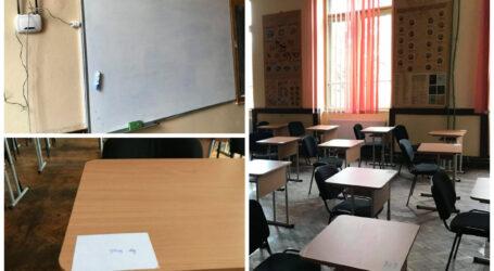 Cum se pregătește CNS Zalău să-și primească elevii în bănci?