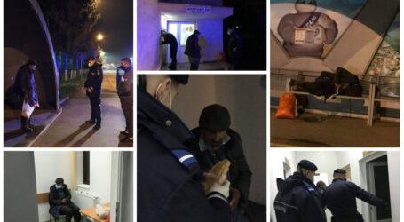 VIDEO. Gest NOBIL al unui echipaj de jandarmi din Zalău: au salvat viața unui bătrân înghețat de frig