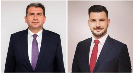 """Ce spune Dan Ghiurco despre Vlad Pașcalău: """"este liderul cele mai puternice organizații de tineret din PSD Sălaj"""""""