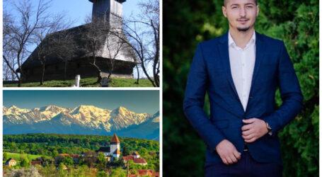 Un tânăr din Jibou promovează locurile frumoase din România, mai puțin cunoscute