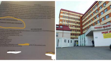 """Acuze GRAVE la adresa Spitalului Județean din Zalău – """"se moare cu zile"""""""