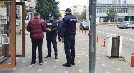 Doi tineri, amendați cu 500 de lei pentru că se plimbau fără mască prin centrul Zalăului