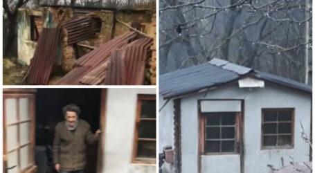 Un polițist din Sălaj alături de un antreprenor au DONAT o casă unui bărbat care a rămas pe drumuri după un incendiu devastator (video)