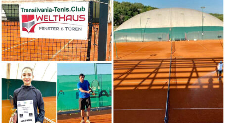 Transilvania Tenis, cel mai puternic club de tenis din Sălaj
