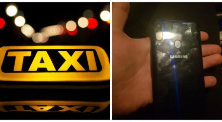 Gest NOBIL: un zălăuan a găsit un telefon mobil într-un taxi și l-a predat proprietarului