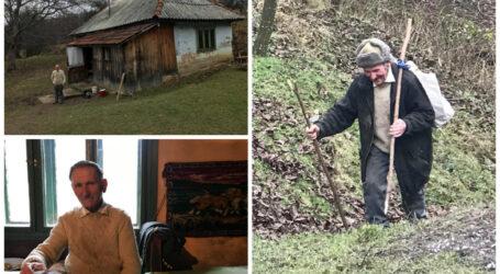 VIDEO IMPRESIONANT. Cum trăiește unul dintre cei mai izolați români. Pustincul neștiut din Sălaj, singur, în inima pădurii