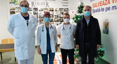 Patru medici rezidenți din Cluj-Napoca au fost detașați la Spitalul Zalău