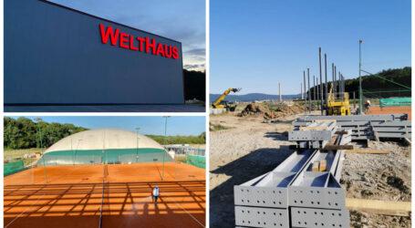 Un investitor privat construiește în Zalău o sală de sport inovatoare cu aproximativ 4.000 de locuri și un bazin de înot