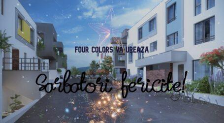 Ansamblul Rezidențial Four Colors vă urează Sărbători Fericite!