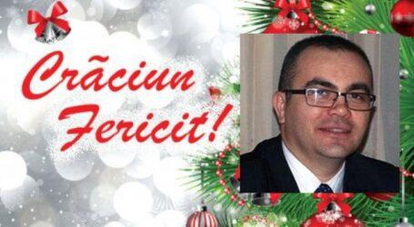 Cosmin Vlaicu, președintele Asociației Secretarilor Județelor din România vă transmite Sărbători Fericite!