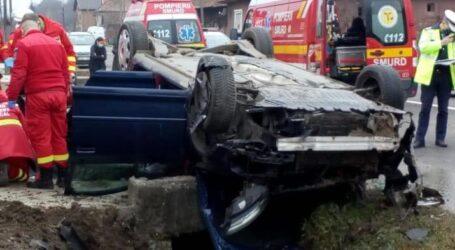 FOTO: accident mortal pe drumul spre Cluj. O femeie din Zalău a murit pe loc