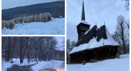 FOTO. Cum arată unul dintre cele mai sălbatice locuri, încă locuit, din județul Sălaj