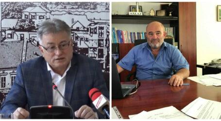 """Ceartă fără precedent între Ciunt și Bulgărean. Cei doi lideri politici și-au aruncat cuvinte grele: """"sunteți analfabeți"""""""