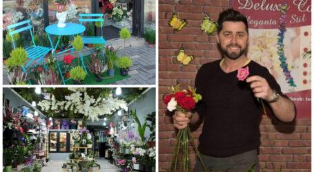 Povestea de succes a tânărului care a deschis în Zalău una dintre cele mai inedite florării din România