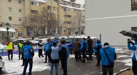 ULTIMA ORĂ! A început protestul de la Zalău împotriva Guvernului (VIDEO)