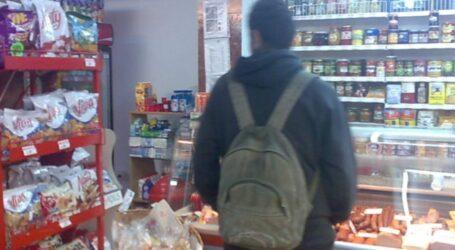 Un bătrân de 65 ani, prins la furat într-un magazin din Zalău