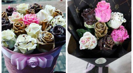 """Trandafirii cu ciocolată, nou """"fiță"""" din Zalău"""