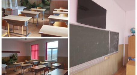 Ca în OCCIDENT! Școala din Sălaj care a înlocuit tabla și creta cu SMART TV-uri și tehnologie modernă