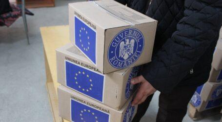 În Zalău a început astăzi campania de împărțit ajutoare de la Uniunea Europeană