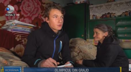 1,2 milioane de români au urmărit la Kanal D povestea lui Andrei, olimpicul din Sălaj care locuiește într-un grajd