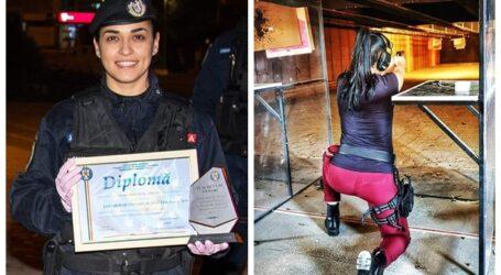 O tânără din Jandarmeria Sălaj este cea mai bună trăgătoare cu arma din România