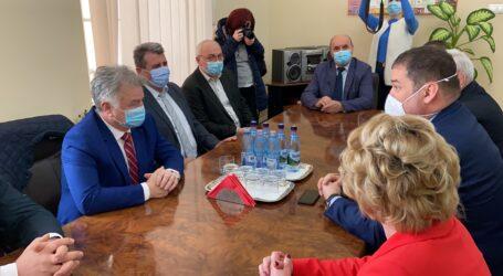 VIDEO. Primarii din Zalău și din Jibou s-au întâlnit cu Ministrul Dezvoltării pentru a stabili prioritățile de investiții