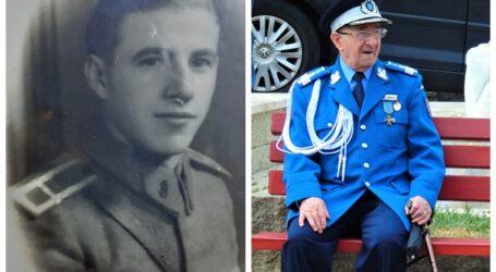 Povestea de viață a celui mai în vârstă militar al Jandarmeriei Române! Sălăjeanul ne spune care este secretul unei vieți cât mai îndelungate