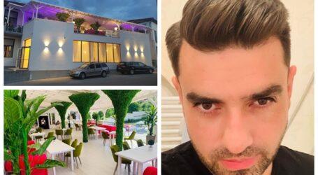 Un tânăr IT-ist din Jibou a investit banii câștigați în fața calculatorului într-un lanț de săli de evenimente și o terasă de lux