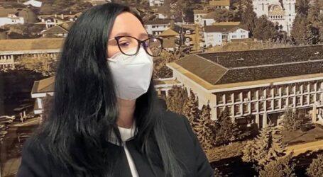 VIDEO. Avocata Andrea Ciortea a depus jurământul pentru funcția de subprefect