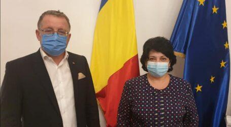 Directorul ANIF Sălaj, Dana Crișan, vizită la Ministrul Agriculturii